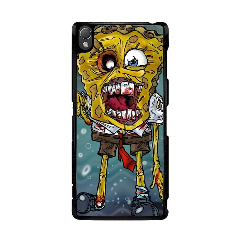 Flazzstore Zombie Sponge Bob Z0217 Custom Casing for SONY Xperia Z3