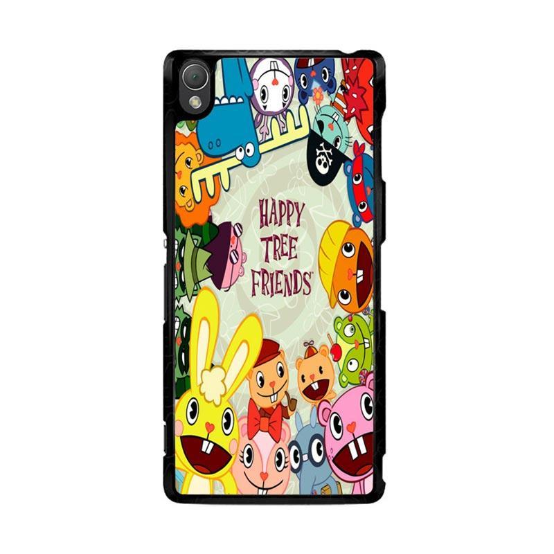 Flazzstore Happy Tree Friends Character Z0900 Custom Casing for Sony Xperia Z3