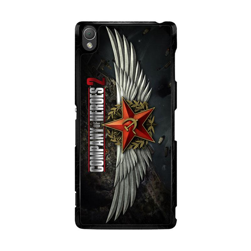 Flazzstore Company Of Heroes Video Game Z1027 Casing for Sony Xperia Z3