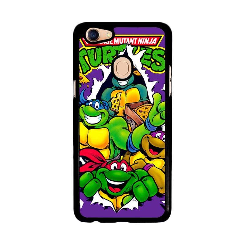 Flazzstore Teenage Mutant Ninja Turtles Z1636 Custom Casing for Oppo F5