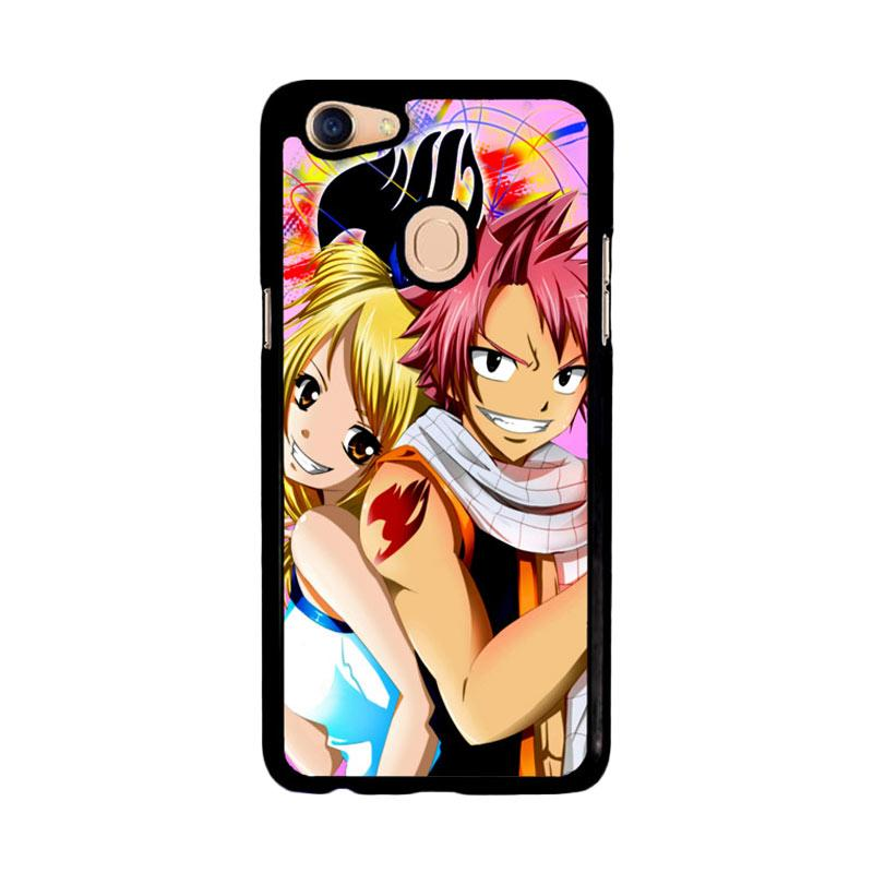Flazzstore Lucy And Natsu  Fairy Tail Z2198 Custom Casing for Oppo F5