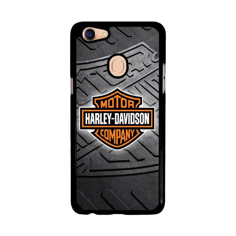 Flazzstore Harley Davidson Logo Z3250 Custom Casing for Oppo F5