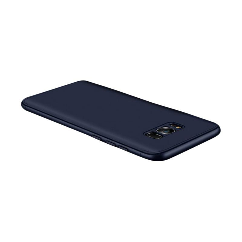 OEM 360 Full Protection 3in1 Casing for Samsung S8 - Blue Navy + Free Screen Protection
