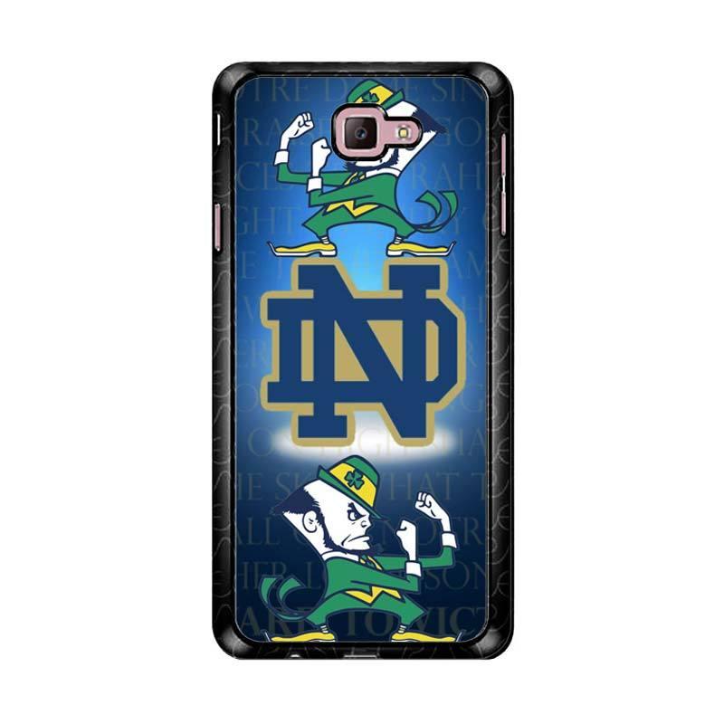Flazzstore Notre Dame Fighting Irish Z3352 Custom Casing for Samsung Galaxy J7 Prime