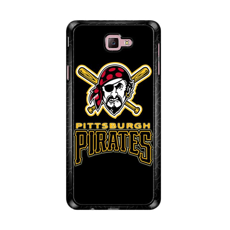 Flazzstore Pittsburgh Pirates Logo Z4122 Custom Casing for Samsung Galaxy J7 Prime