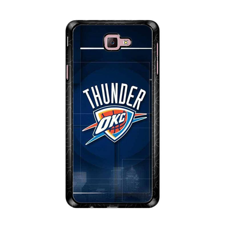 Flazzstore Thunder Okc Z4186 Custom Casing for Samsung Galaxy J7 Prime