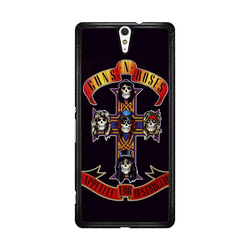 Flazzstore Rock Bands Guns N Roses F0216 Custom Casing for Sony Xperia C5 Ultra