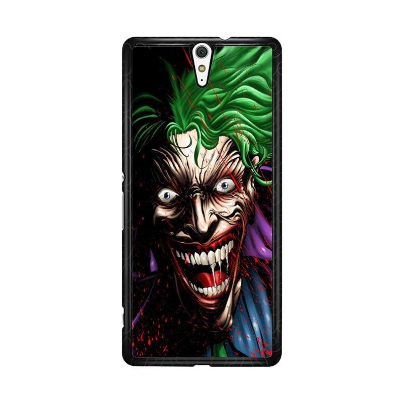 Flazzstore Joker Face Cartoon Z1273 Custom Casing for Sony Xperia C5 Ultra