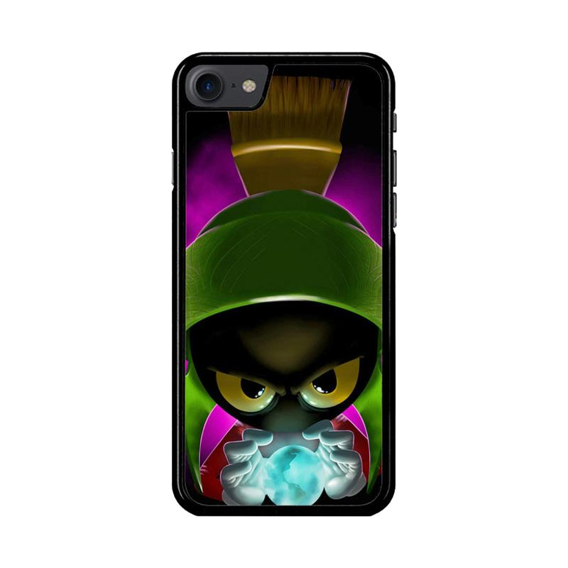 Flazzstore Marvin The Martian Painting  Z1525 Custom Casing for iPhone 7 or 8