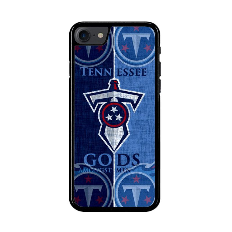 Flazzstore Tennessee Titans Logo Z3008 Custom Casing for iPhone 7 or 8