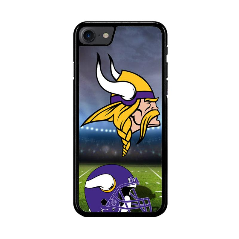 Flazzstore Minnesota Vikings Logo Z3021 Custom Casing for iPhone 7 or 8