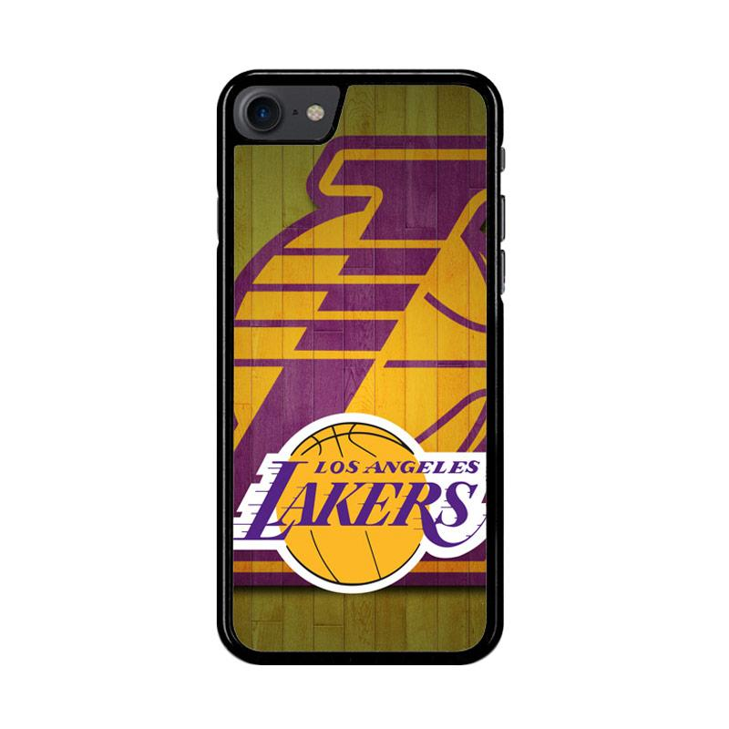 Flazzstore Los Angeles Lakers Z3222 Custom Casing for iPhone 7 or 8