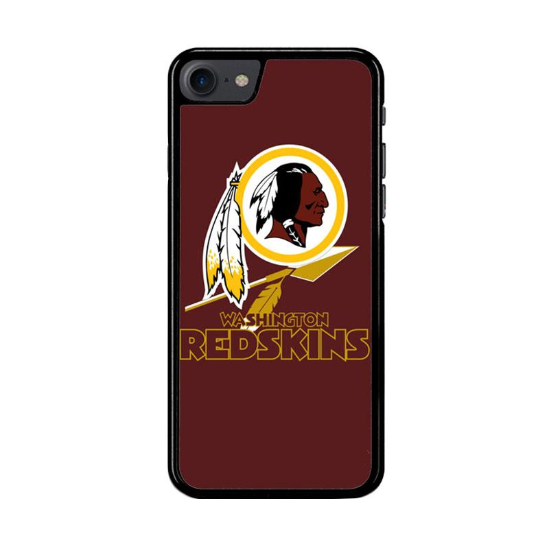 Flazzstore Washington Redskins Logo Z3331 Custom Casing for iPhone 7 or 8