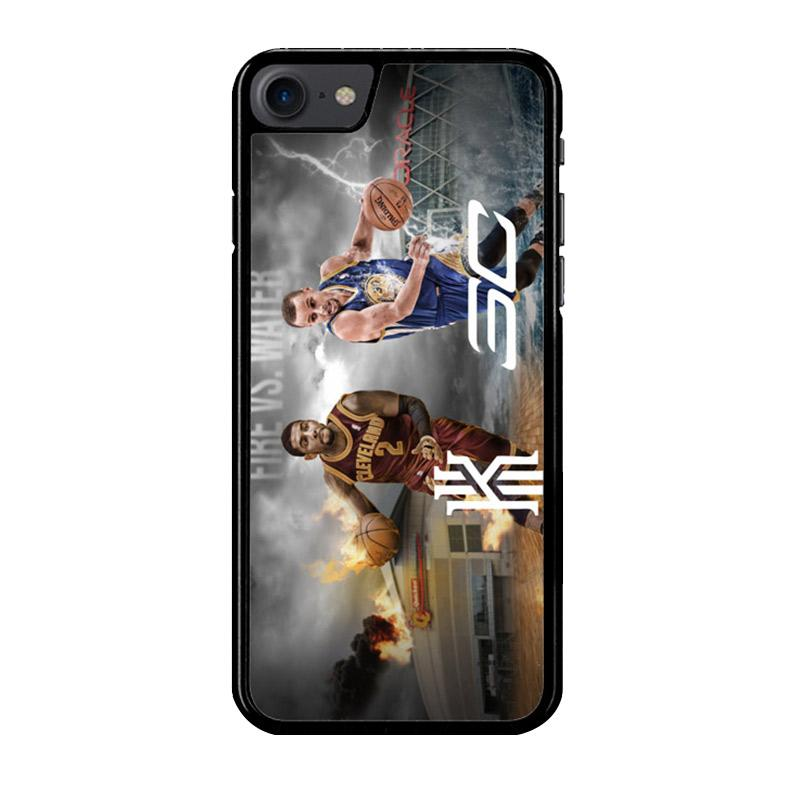 Flazzstore Kyrie Irving And Stephen Curry Z3894 Custom Casing for iPhone 7 or iPhone 8