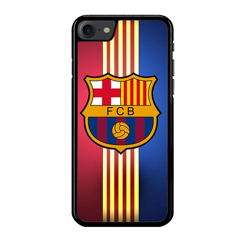 Flazzstore Fc Barcelona Logo Z4005 Custom Casing for iPhone 7 or 8