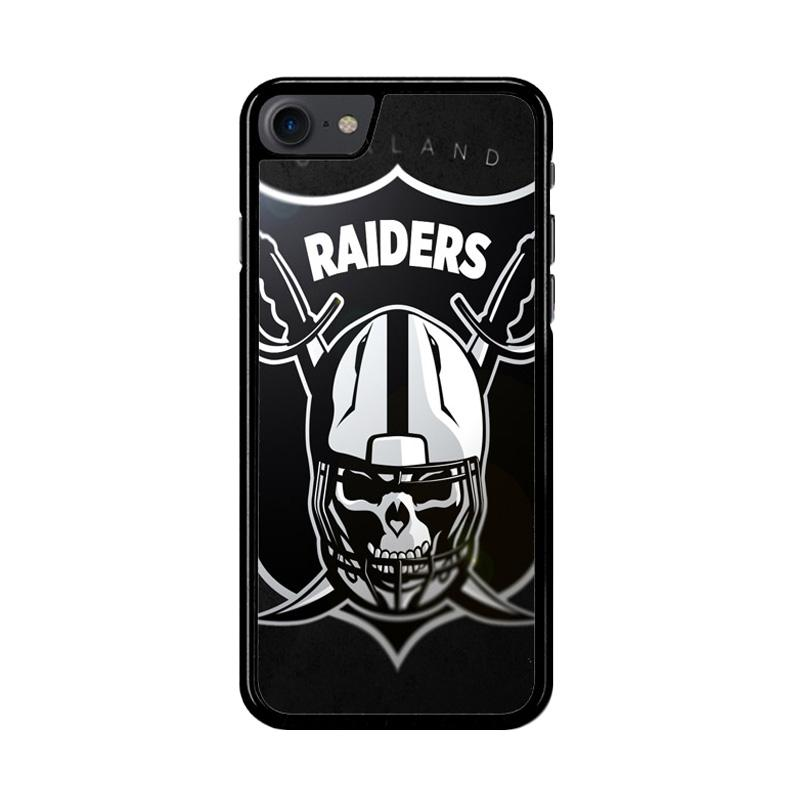 Flazzstore Oakland Raiders Logo Z4061 Custom Casing for iPhone 7 or 8