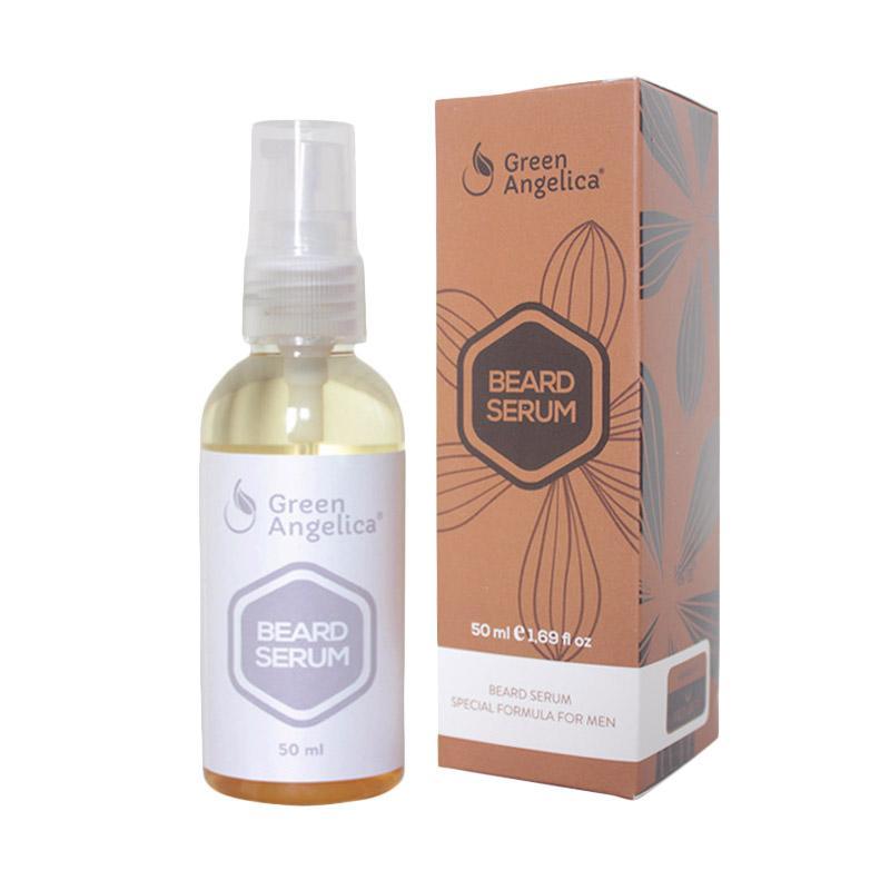 Penumbuh Brewok, Penumbuh Jenggot Green Angelica Beard Serum Penumbuh Jambang Original Herbal Alami