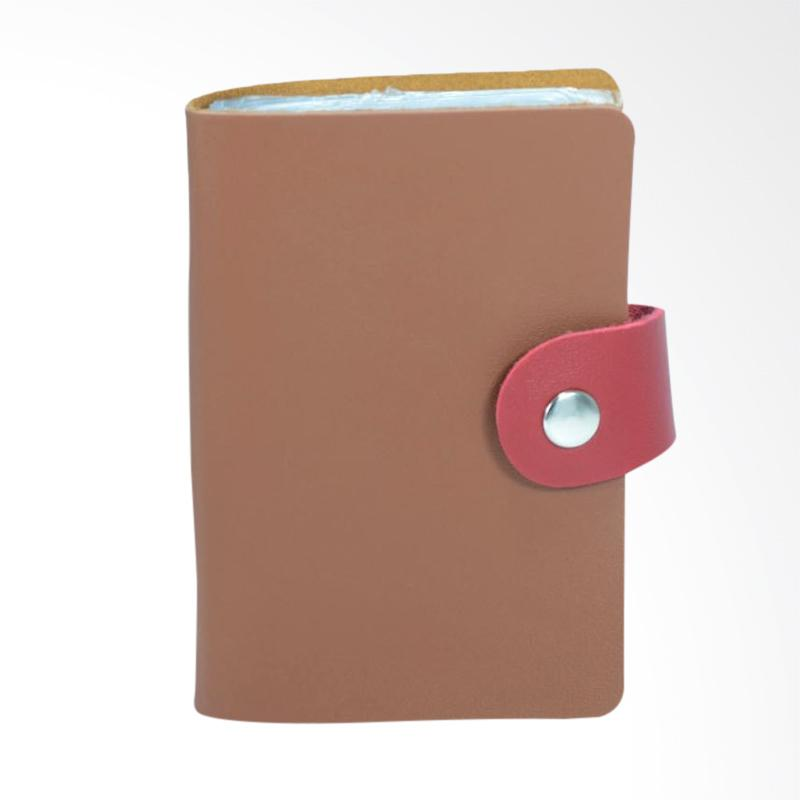 Bambi 6258 Peafowl Card Holder - Red