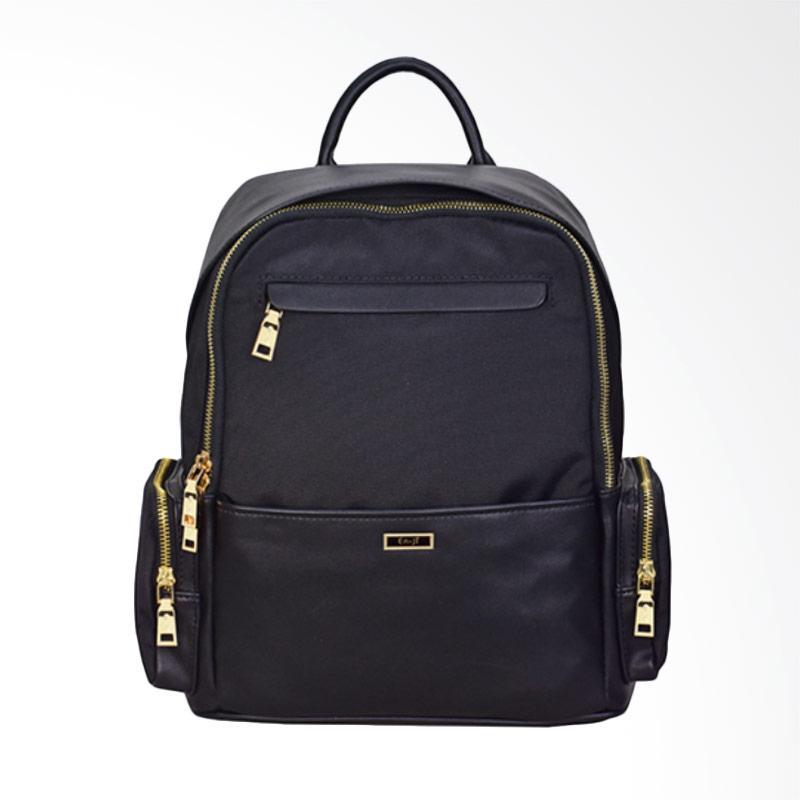 En-ji By Palomino Blurry Backpack - Black