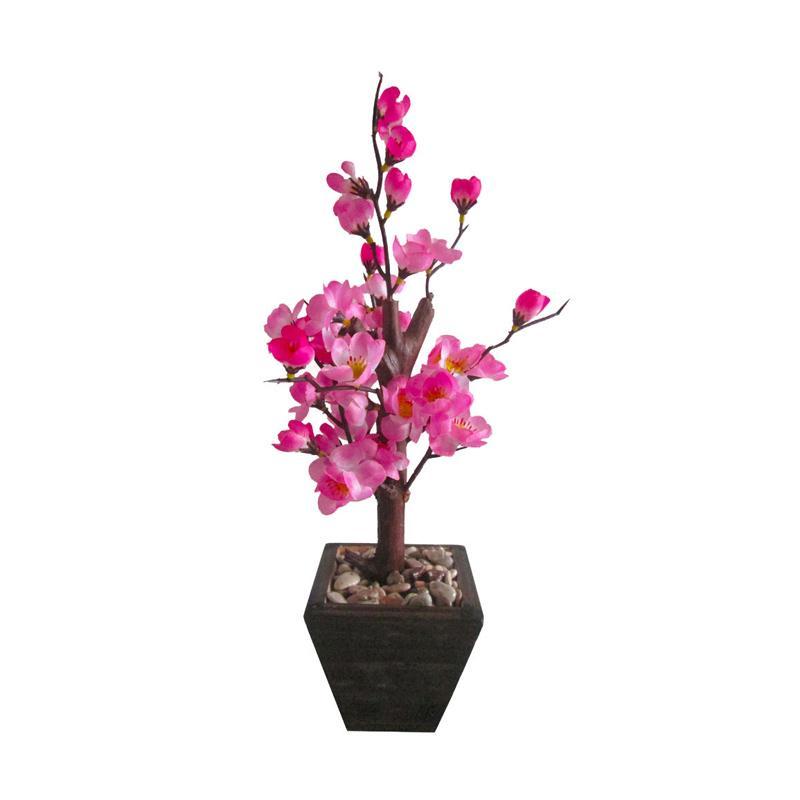 Royal Pink Artificial Bunga Sakura