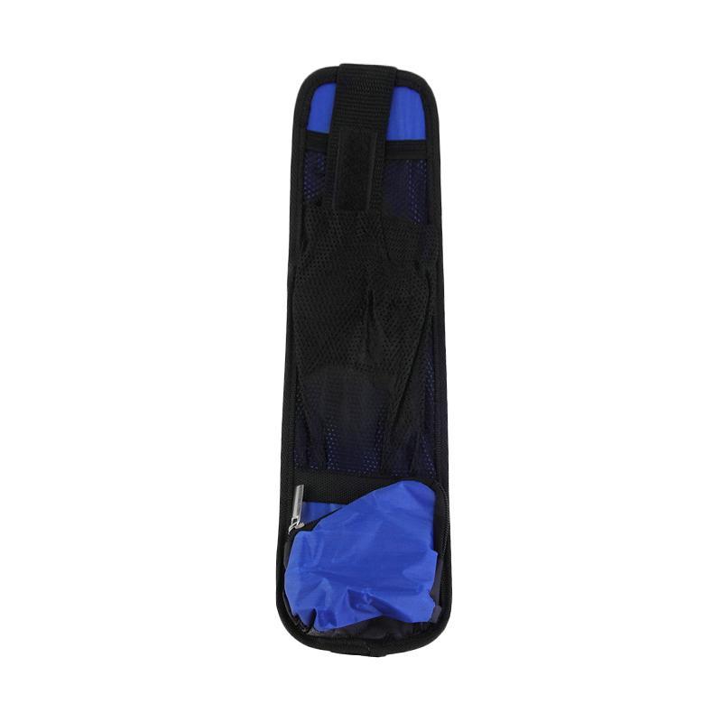 Pristy Car Chair Side Pocket Holder Bag Tas Organizer Mobil - Blue