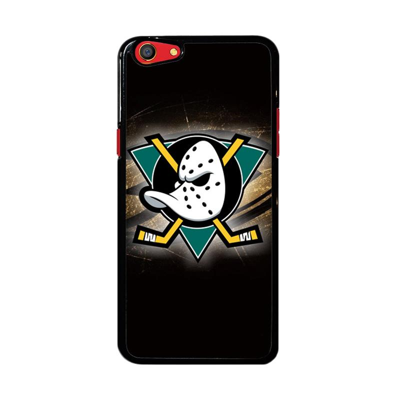 Flazzstore Anaheim Mighty Ducks Nhl Z3280 Custom Casing for Oppo F3