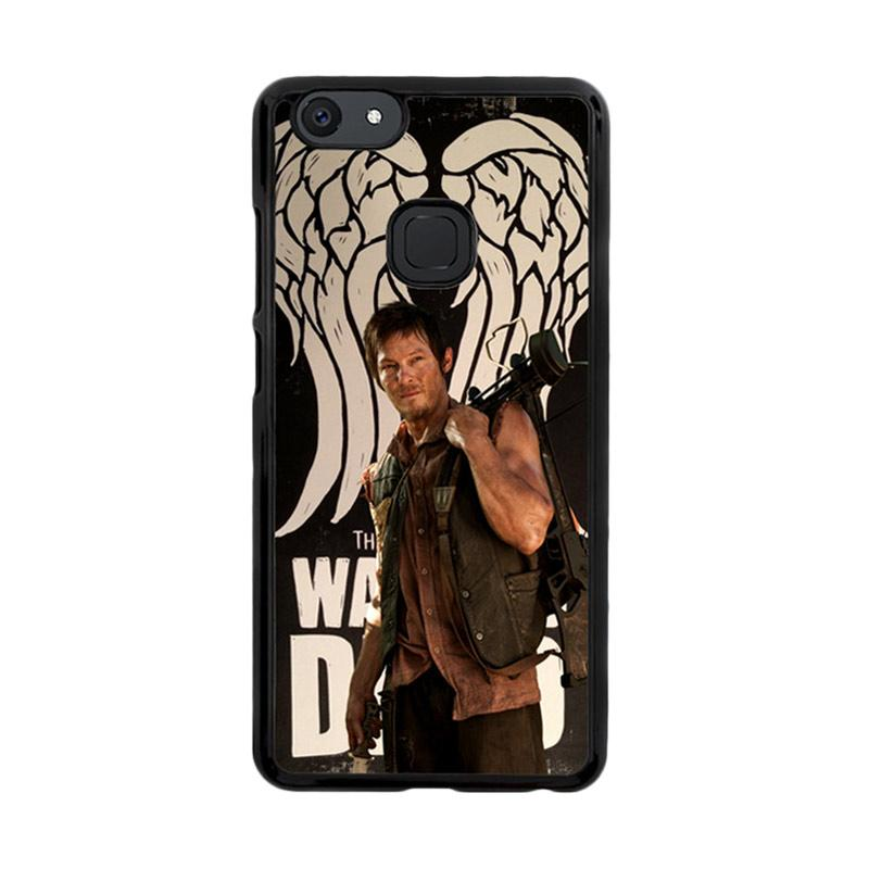 Flazzstore The Walking Dead Daryl Dixon Wings Z2791 Custom Casing for Vivo V7 Plus