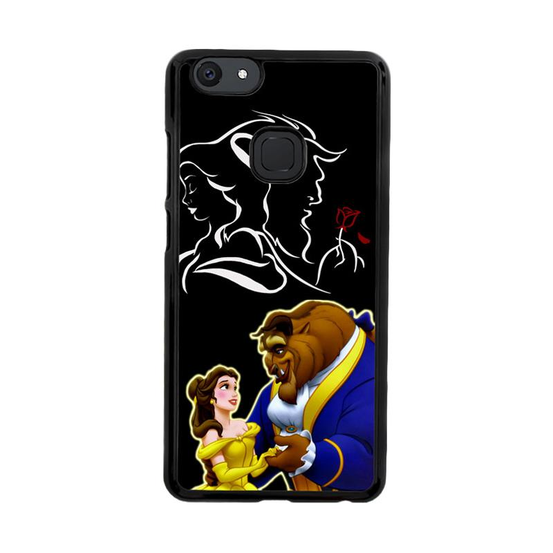 Flazzstore Disney Beauty And The Beast  Z2973 Custom Casing for Vivo V7 Plus