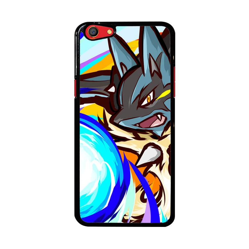 Flazzstore Lucario Mega Evolution Pokemon Z3984 Custom Casing for Oppo F3