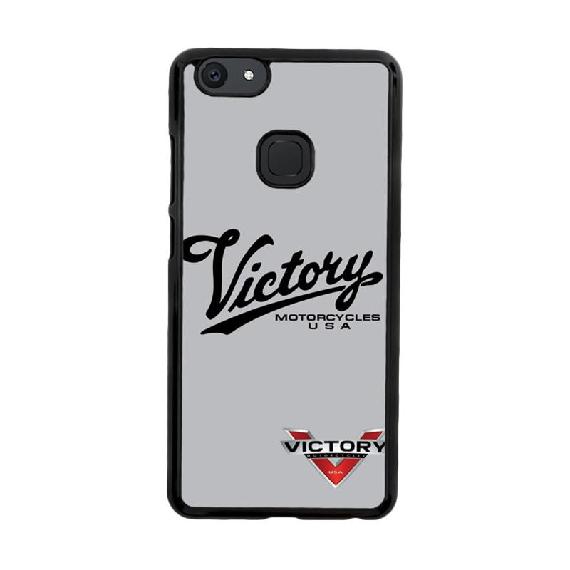 Flazzstore Victory Motorcycles Logo Z3878 Custom Casing for Vivo V7 Plus