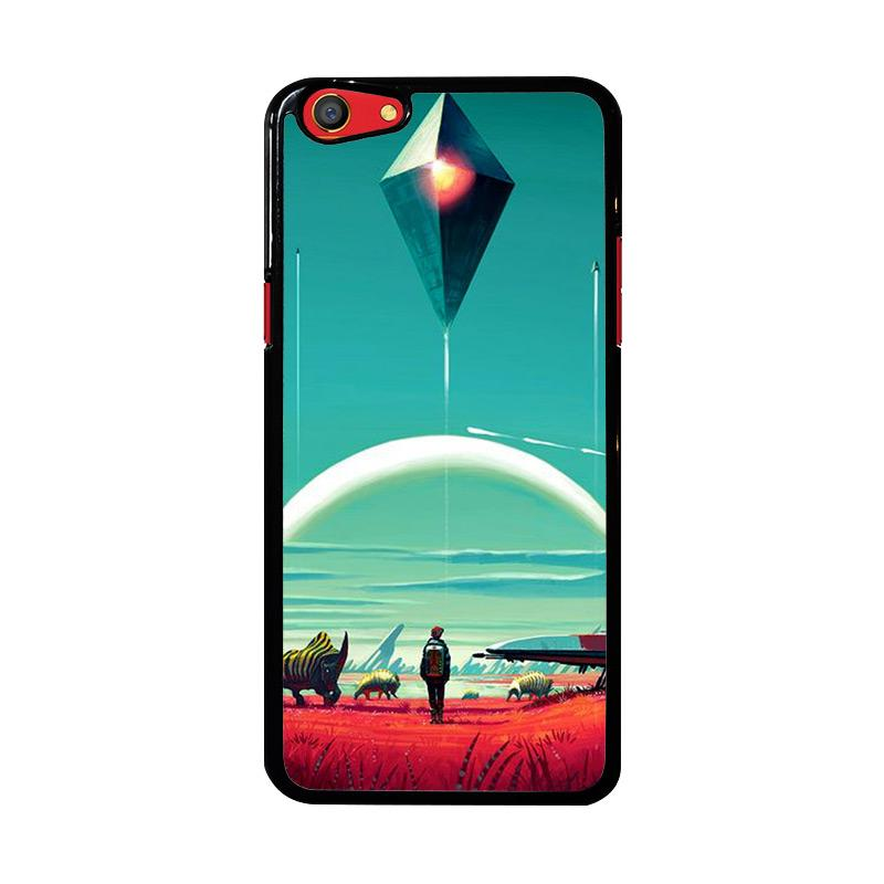 Flazzstore No Mans Sky Z4282 Custom Casing for Oppo F3