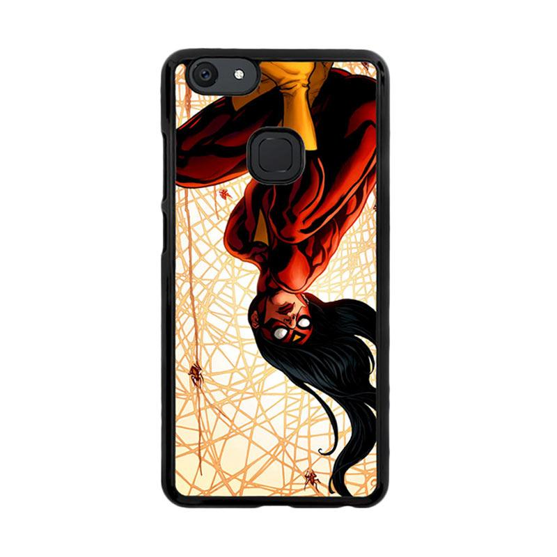Flazzstore Spiderwoman Z4081 Custom Casing for Vivo V7 Plus