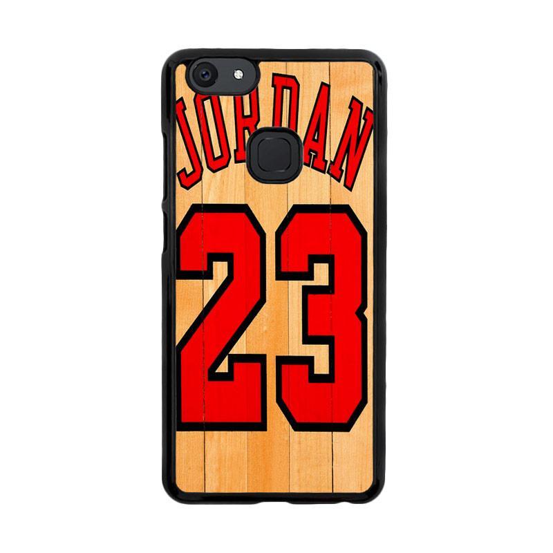 Flazzstore Michael Jordan 23 Wood Z4258 Custom Casing for Vivo V7 Plus