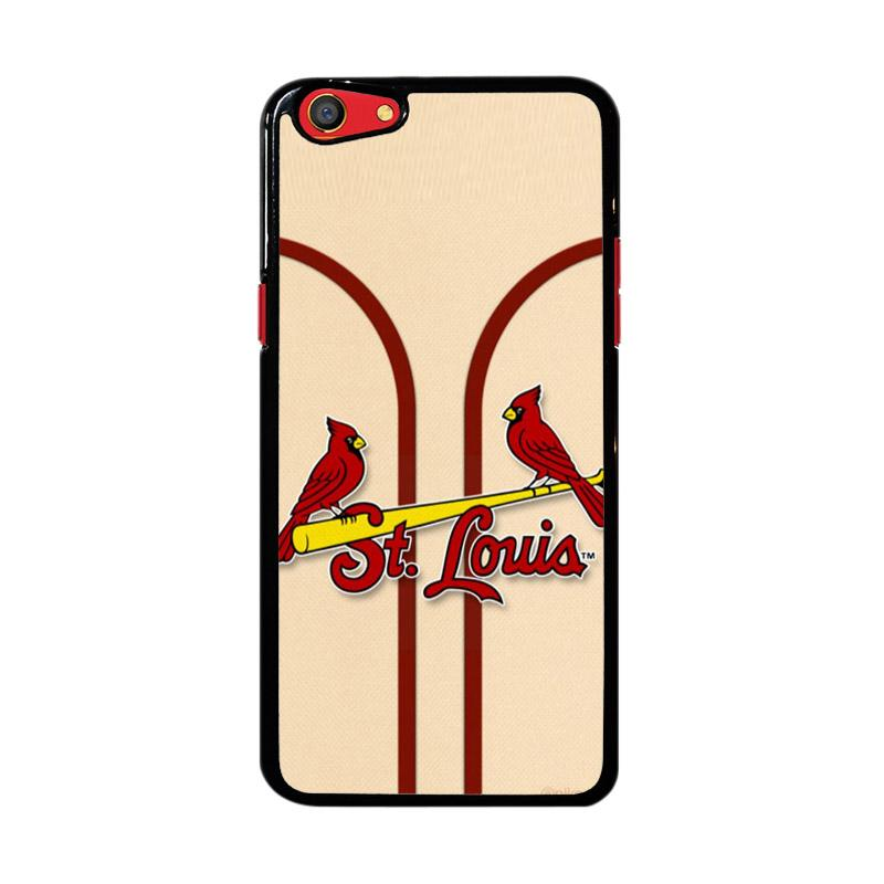 Flazzstore St Louis Cardinals Logo Z4801 Custom Casing for Oppo F3