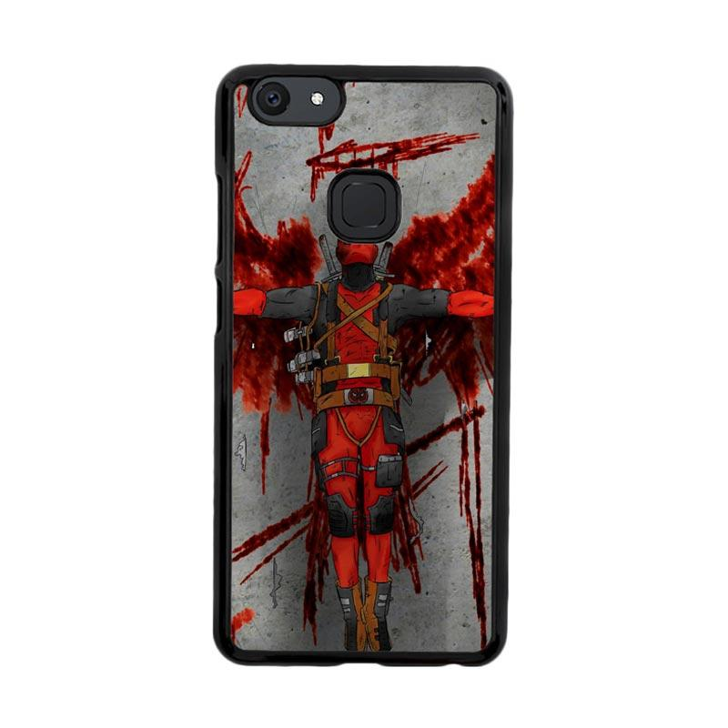 Flazzstore Deadpool Movie Cartoon Z5130 Custom Casing for Vivo V7 Plus