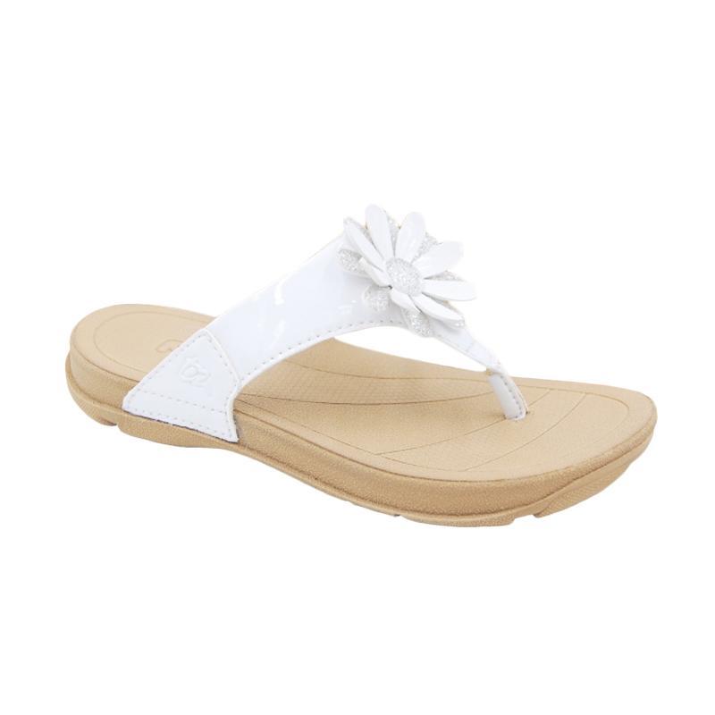 Toezone Kids Rinca Ch White Flower Sandal Anak