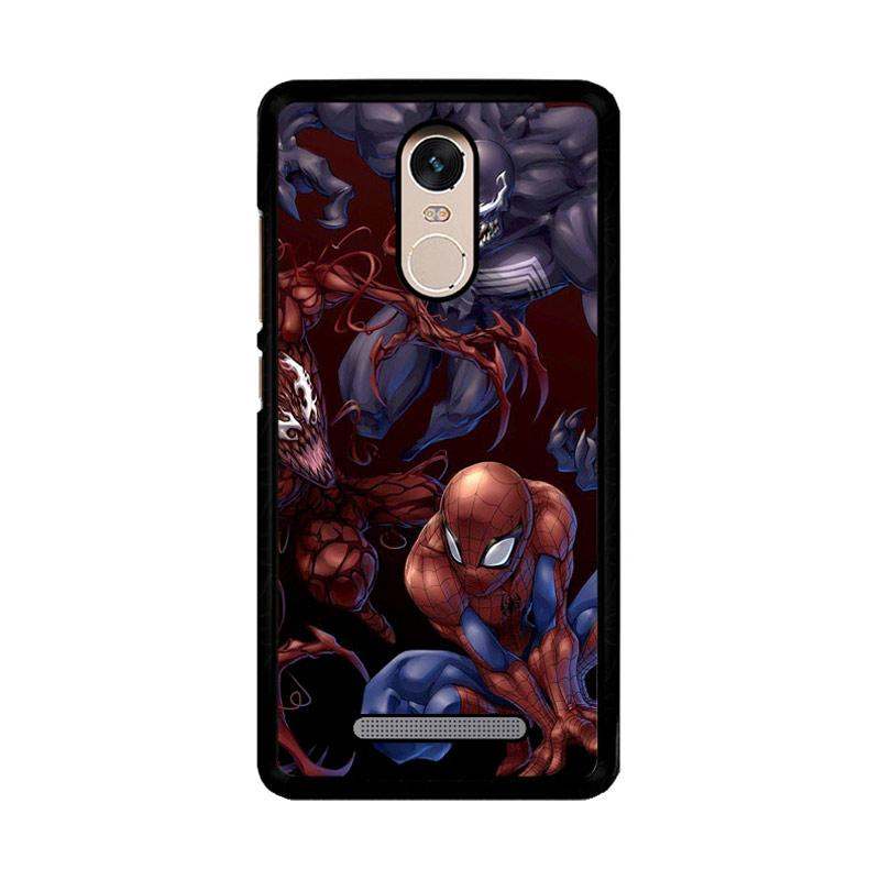 Flazzstore Spiderman Venom Carnage Back Z1619 Custom Casing for Xiaomi Redmi Note 3 or Note 3 Pro