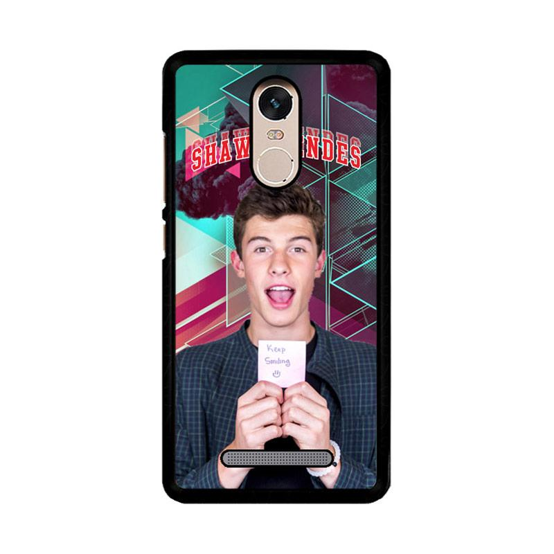 Flazzstore Shawn Mendes Triangle Background Z2106 Custom Casing for Xiaomi Redmi Note 3 or Note 3 Pro