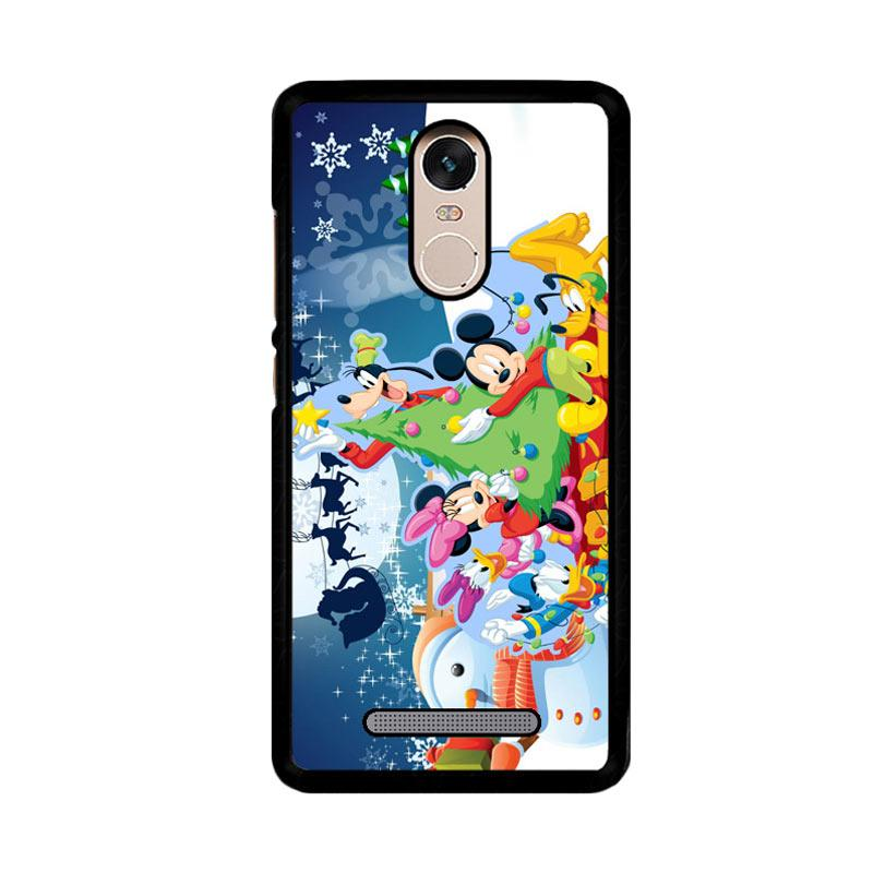 Flazzstore Mickey Mouse And Friends Christmas Z2695 Custom Casing for Xiaomi Redmi Note 3 or Note 3 Pro