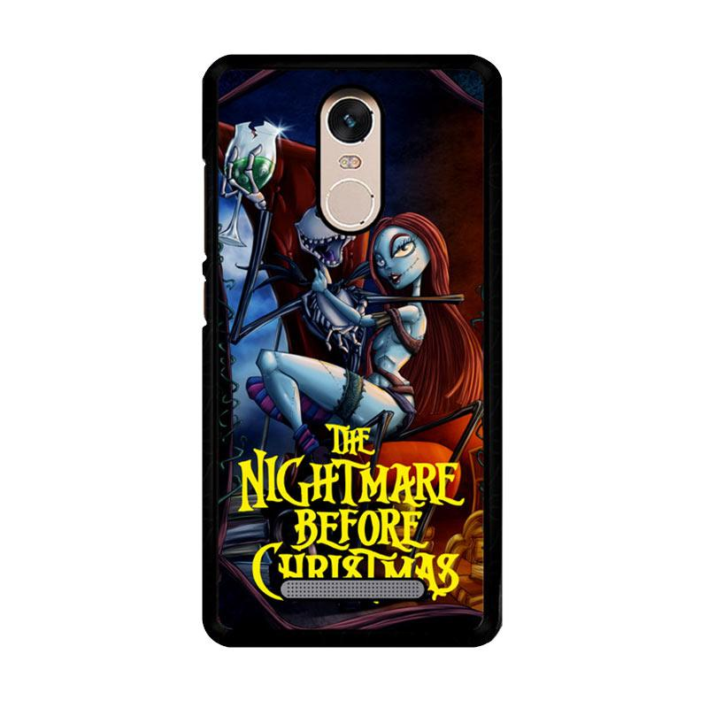 Flazzstore Nightmare Before Christmas Romance Z2862 Custom Casing for Xiaomi Redmi Note 3 or Note 3 Pro
