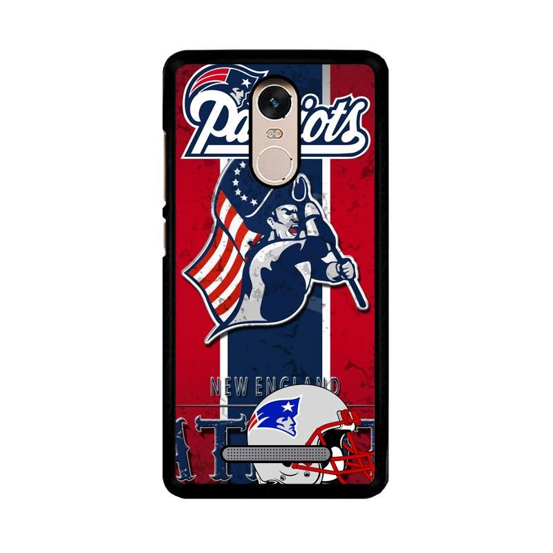 Flazzstore New England Patriots Z2997 Custom Casing for Xiaomi Redmi Note 3 or Note 3 Pro