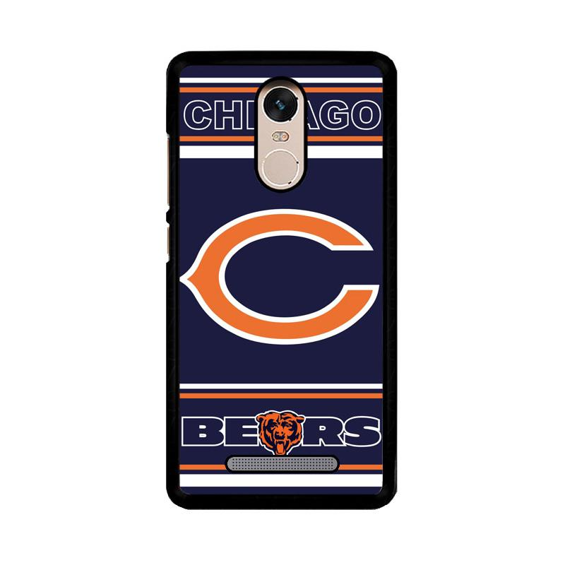 Flazzstore Chicago Bears Z3019 Custom Casing for Xiaomi Redmi Note 3 or Note 3 Pro