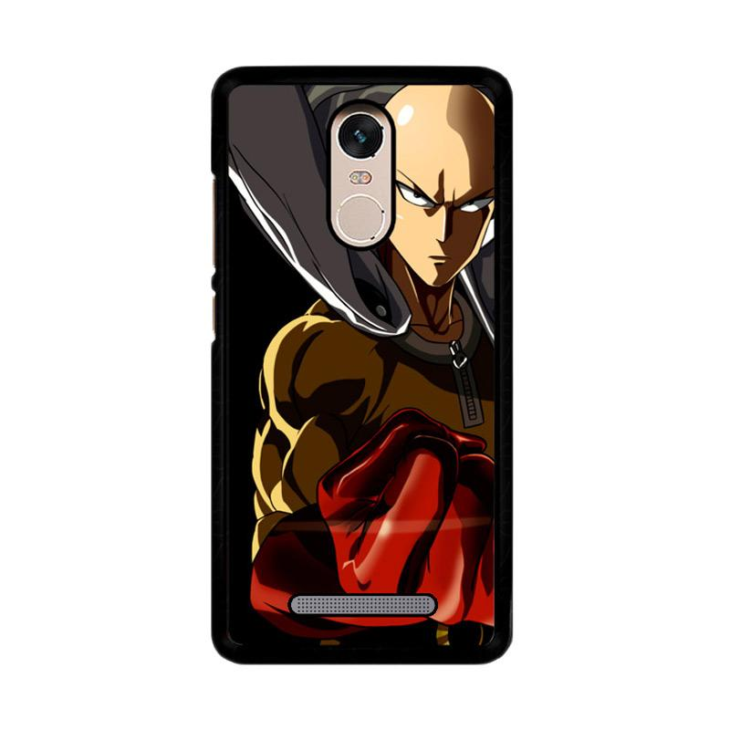 Flazzstore One Punch Man Saitama Z3714 Custom Casing for Xiaomi Redmi Note 3 or Note 3 Pro