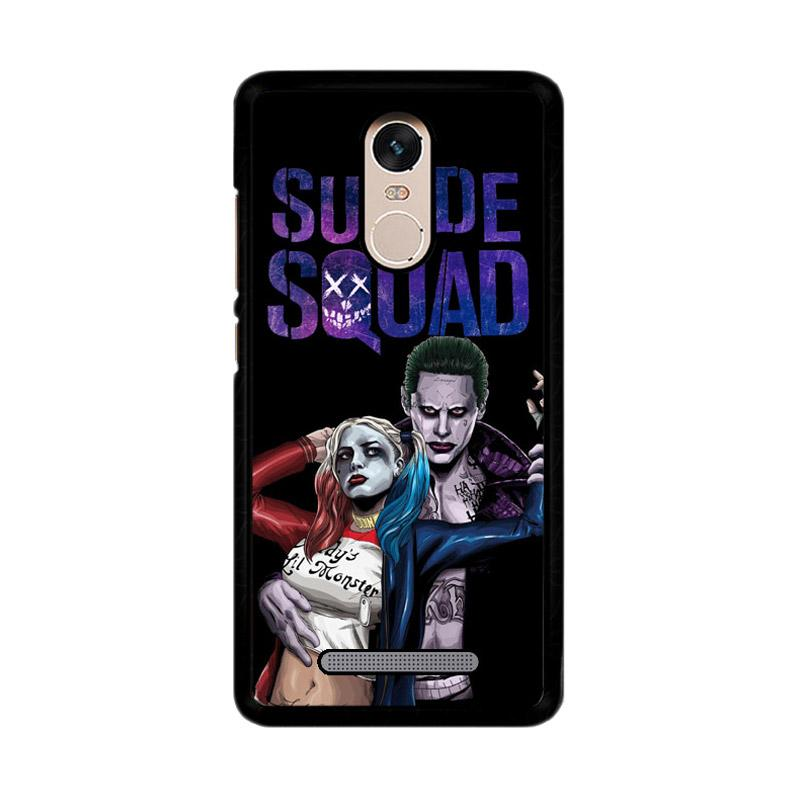 Flazzstore Suicide Squad Joker Harley Vector Z3886 Custom Casing for Xiaomi Redmi Note 3 or Note 3 Pro