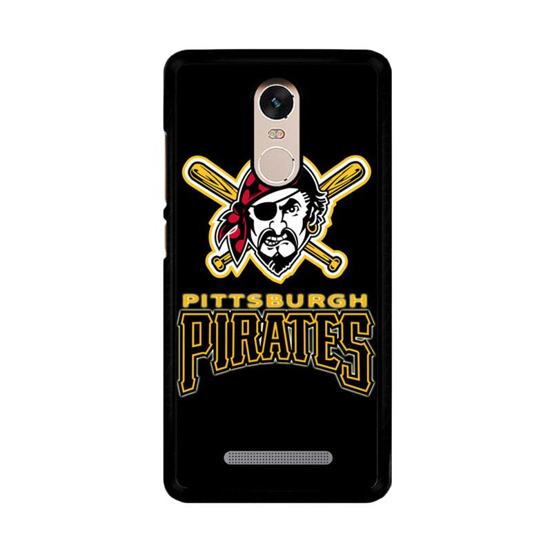 Flazzstore Pittsburgh Pirates Logo Z4122 Custom Casing for Xiaomi Redmi Note 3 or Note 3 Pro