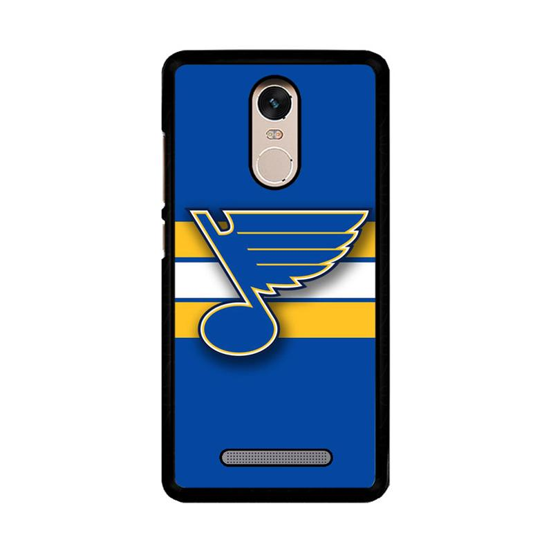 Flazzstore St Louis Blues Logo Z4137 Custom Casing for Xiaomi Redmi Note 3 or Note 3 Pro