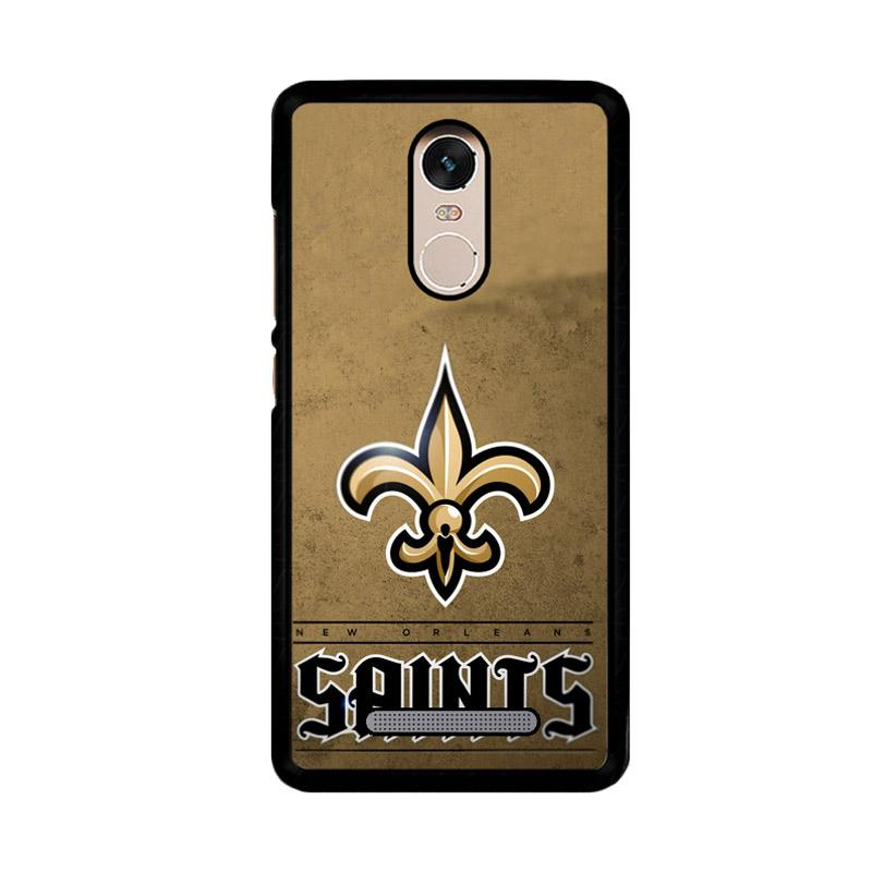 Flazzstore New Orleans Saints Z4149 Custom Casing for Xiaomi Redmi Note 3 or Note 3 Pro