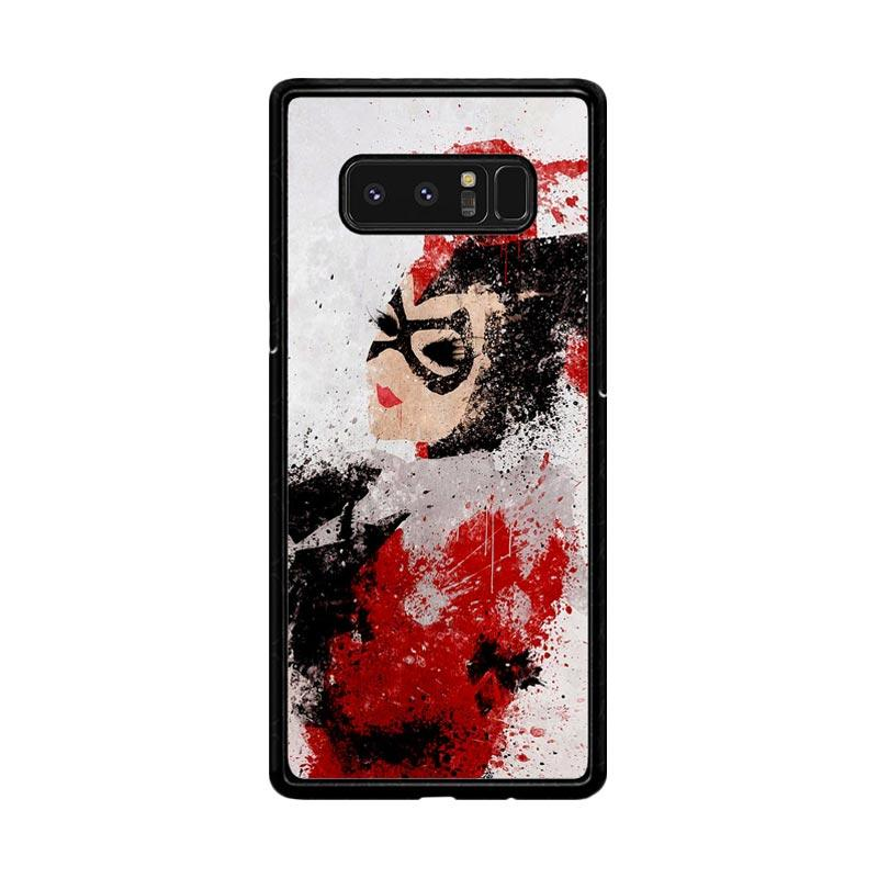 Flazzstore Harley Quinn Painting Z1686 Custom Casing for Samsung Galaxy Note 8