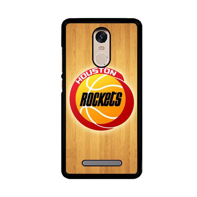 Flazzstore Houston Rockets Logo Z4162 Custom Casing for Xiaomi Redmi Note 3 or Note 3 Pro