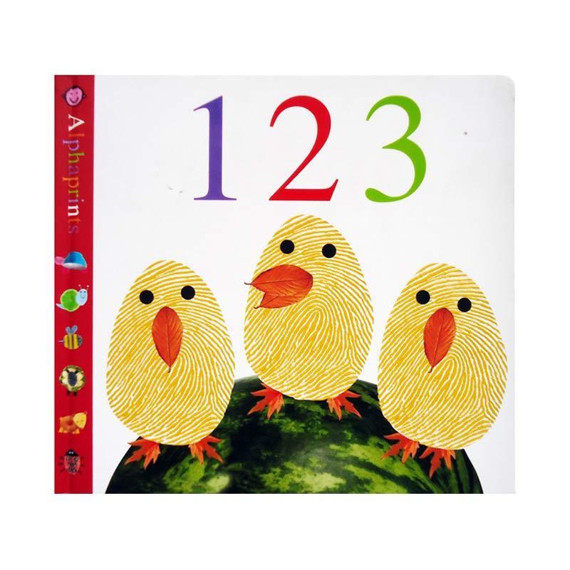 Genius Alphaprints 123 Buku Edukasi Anak
